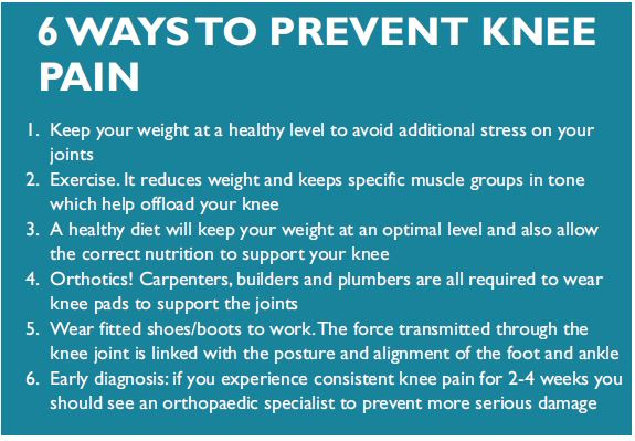 Tips to Prevent Knee Pain