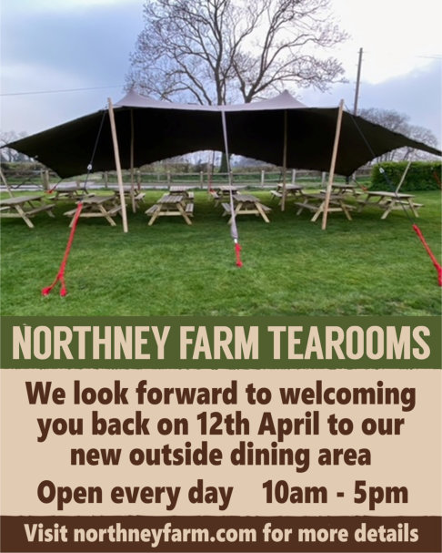 Northney Farm Tearooms advert