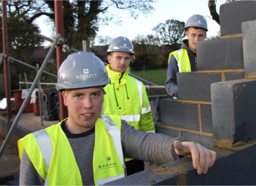 Barratt Homes Apprentices