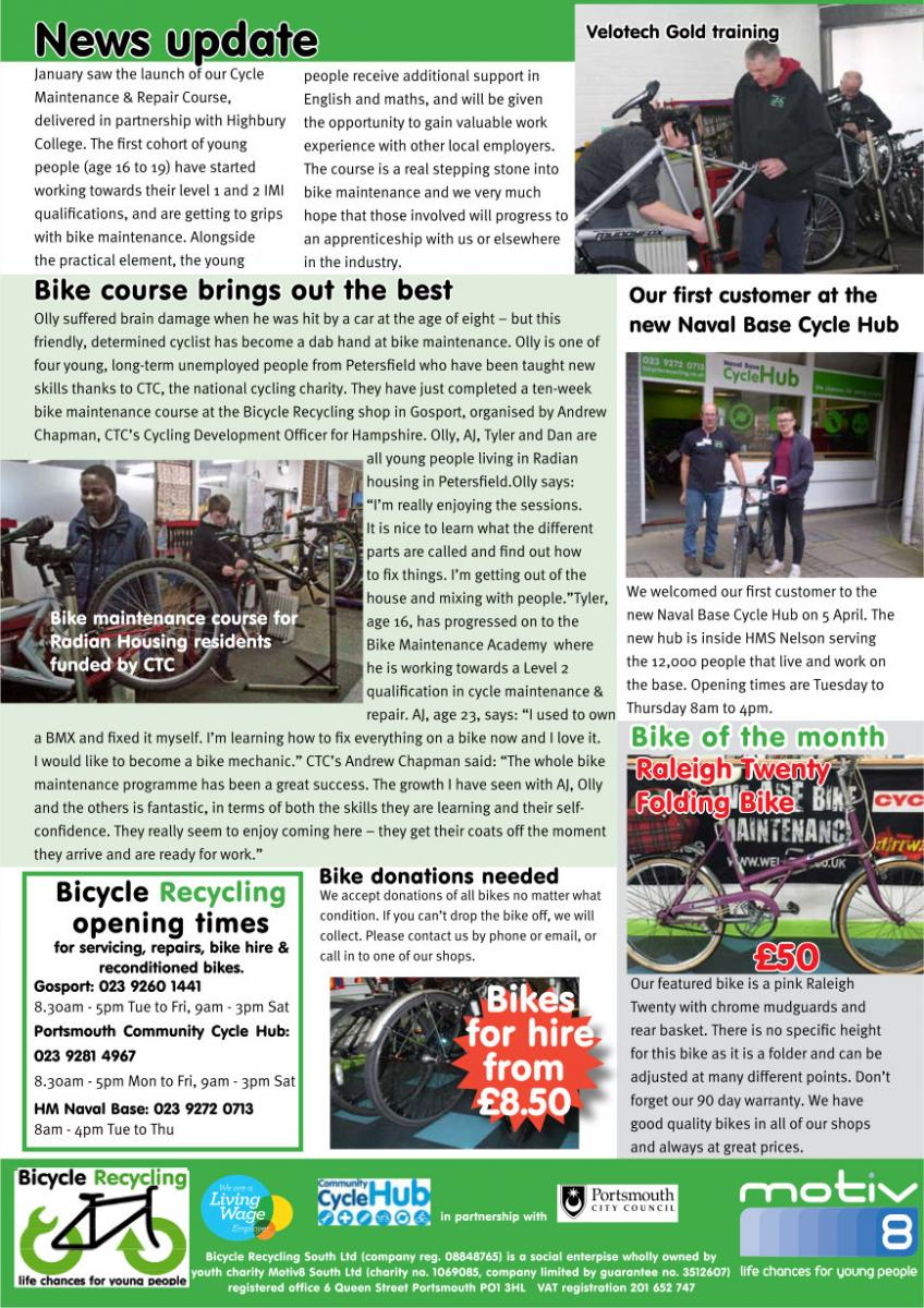 Bicycle Recyling News
