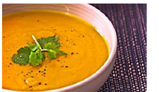 CArrot & Curry Plant Soup