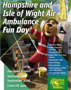 HAMPSHIRE AND ISLE OF WIGHT AIR AMBULANCE  Fun Day