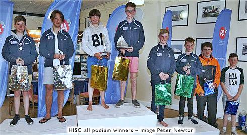 Hayling Island Sailing Club Youth sailors take clean sweep at RS