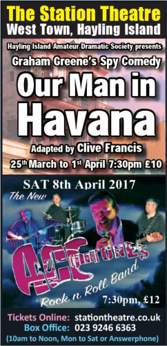 Our Man In Havana at the Station Theatre