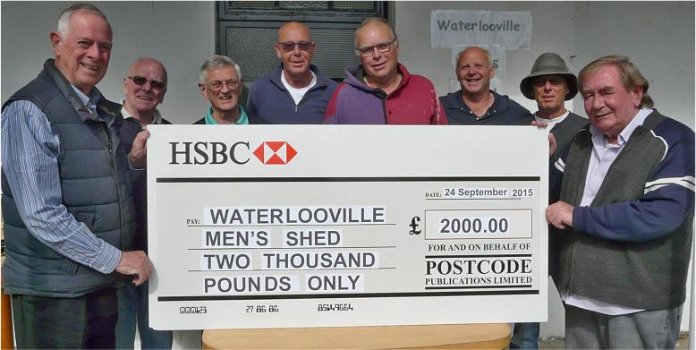 SUPPORT FOR WATERLOOVILLE MEN'S SHED