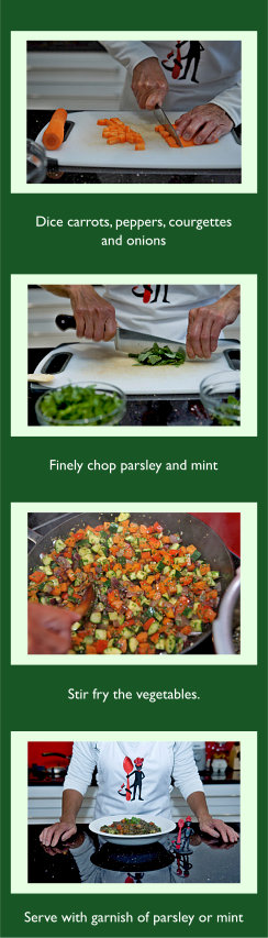 Rainbow Puy lentils Recipe