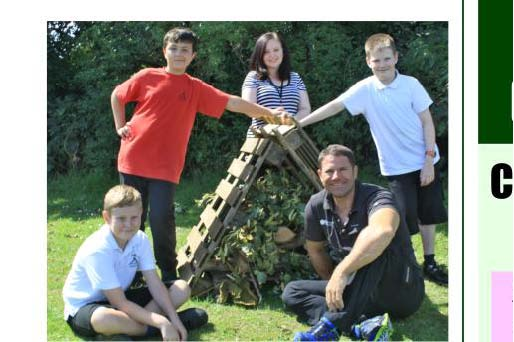 Steve Backshall at Mengha Juniors School