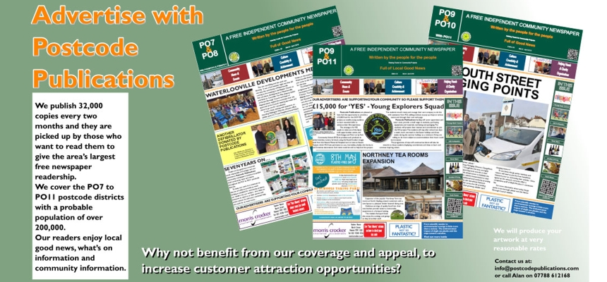 Advertise with Postcode Publications